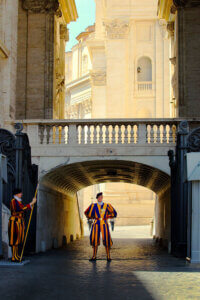 What does it take to be a Swiss Guard?