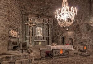 Have you ever heard of the Wieliczka Salt Mine?