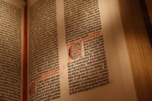 The Catholic Bible: The First Printed Book?