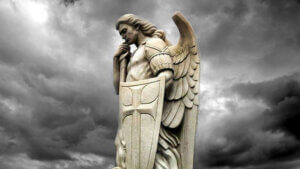 What did St. Michael say to Lucifer?