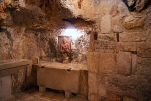 Have you ever heard of St. Jerome's Cave in the Holy Land?