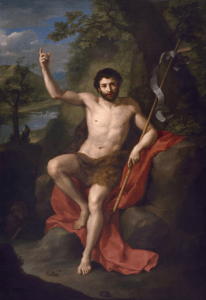 What happened to St. John the Baptist's head, arm, and finger?
