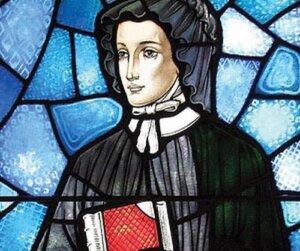 "Why is St. Elizabeth Ann Seton's ""teaching rock"" an American treasure?"