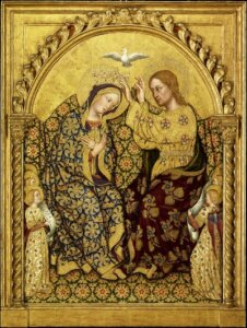 What did Mary's coronation look like?