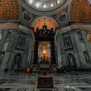 Where is St. Peter's chair?