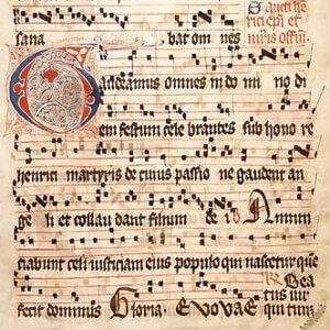 How old is Gregorian chant?