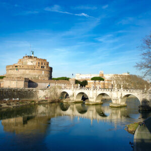 Did you know that St. Michael has his own castle in Rome?