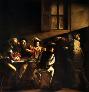 How did St. Matthew go from being a tax collector to an apostle?