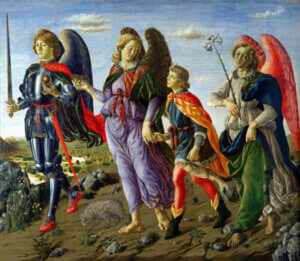 Where are the archangels mentioned in the Bible?
